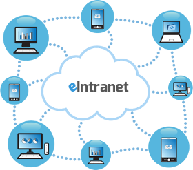 Intranet cloud